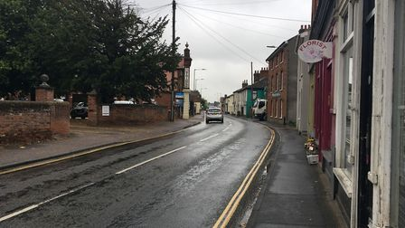 Delays are 'likely' while BT carries out work on Wellington Road in Dereham. Picture: Archant