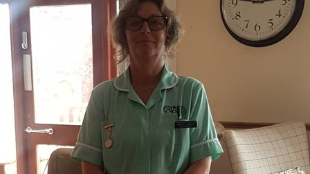 One of The Maltings' carers, Kerry O'Brien. Picture: Michelle Emmerson