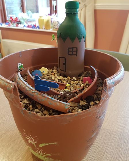 Items created for the carehome's fairy garden. Picture: Michelle Emmerson