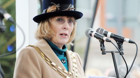 Mayor Linda Monument is upbeat about Dereham business and retail prospects. Picture: Archant
