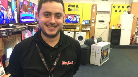 Jamie Grimson, store manager at Hughes and member of Dereham Retail Group, says the town must ensure