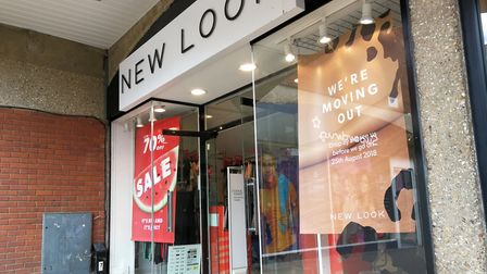 The New Look store in Dereham closed in 2018. Picture: Archant