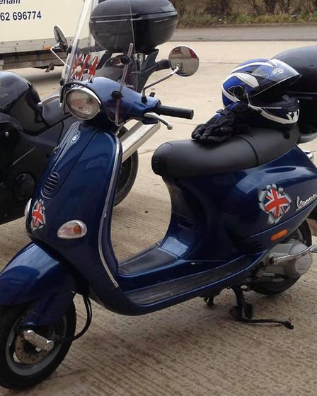 Keeley Blanks, a university student from Scarning, has had her scooter stolen (pictured). Picture: M
