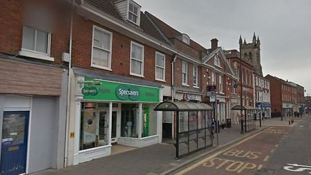 The Specsavers branch in Dereham's High Street. Picture: Google StreetView