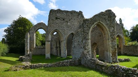 The North Creake Abbey has remained opened during the pandemic. Picture: Lesley Buckley