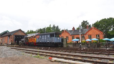 Whitwell Reepham Railway back in action after lock down Pictures: BRITTANY WOODMAN