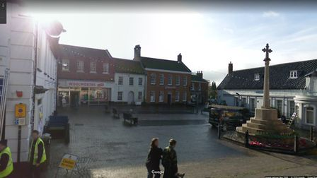 Woolworths in Fakenham was on the Market Place in the town. Picture: Google Maps