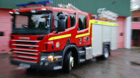 Firefighters were called to a bungalow in Scarning, near Dereham