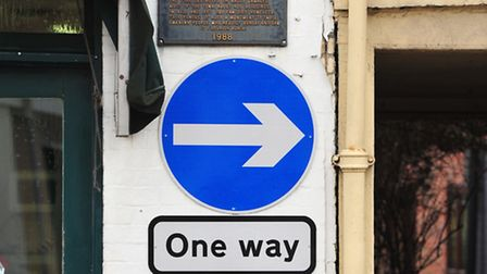 Bungay's one-way system.
