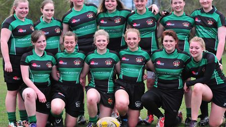 Feature with the Beccles ladies rugby team.The Under 15 and 18 squads