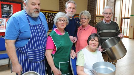 The Link Lunch club at St Luke's Church which is looking for more volunteers to help run it.Vicar Jo