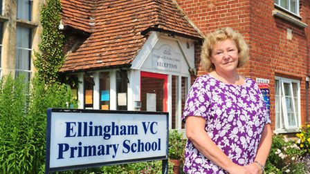 Woodton and Ellingham primary school head teacher Pauline McGowan is set to retire at the end of ter