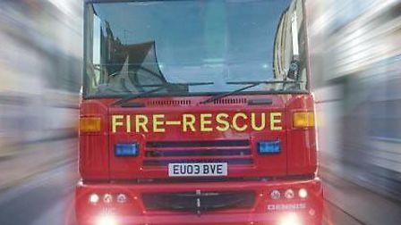 Fire crews from Watton and King's Lynn attended