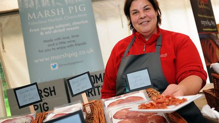 The Waveney Food Festival comes to a close with a foody event at Bungay Castle where visitors can bu