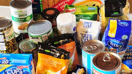A campaign urging residents to donate items to their local foodbank has been launched