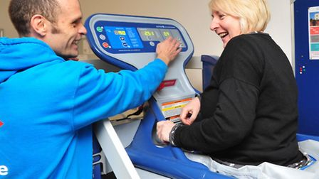 Seasons Gym, Beccles now has a Anti-Gravity Treadmill to help people recover from injury or illness.
