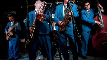 King Pleasure and the Biscuit Boys are playing at Beccles Public Hall.