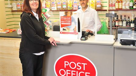 Jo Connor and Glen Orford have taken over Loddon Post Office.