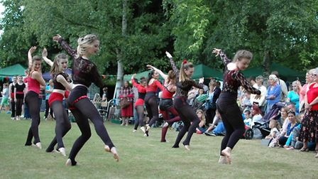 A scene from Beccles Hospital Fete last year