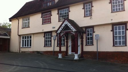 The Halesworth Social Club building in the Market Place which has been put up for sale.