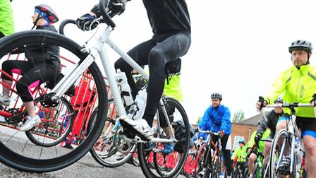 Suffolk's first cycling strategy has been launched in Halesworth