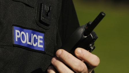 Police were called after a man was attacked by a dog.