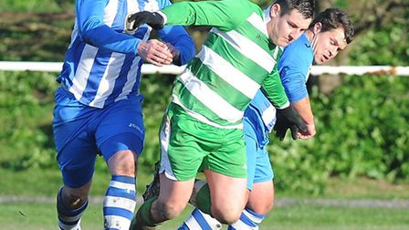 Beccles Caxton, in action here against Wells last season, have appointed their new manager.
