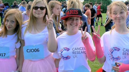Students take part in the fourth Leman for Life fundraising event