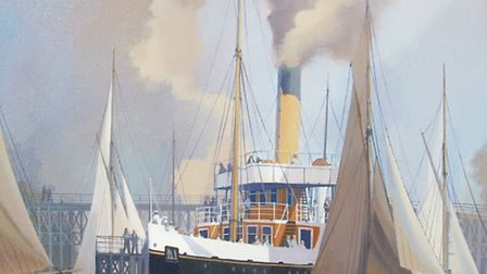 John Dawkins, a semi professional artist from Chediston, is appealing to trace his lost painting, pi