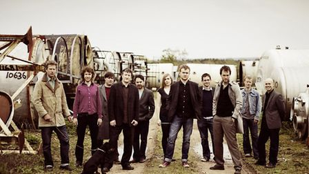 Award-winning Bellowhead will be headlinging on Friday evening at the 2014 FolkEast weekend.