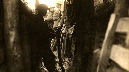 One of the photographsfromt the First World War exhibition to be held at Beccles Public Hall later t