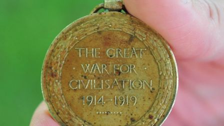 Lizzie Samkin has found a First World War Medal in her loft and is now trying to trace the owner.