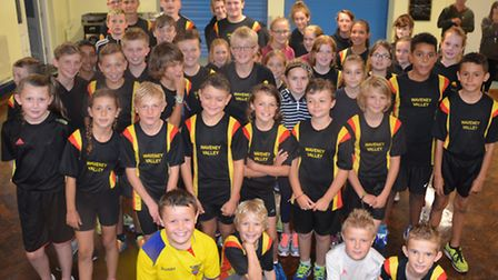 Young athletes from Waveney Valley AC competed in round 4, the final Norfolk Quadkids league meeting