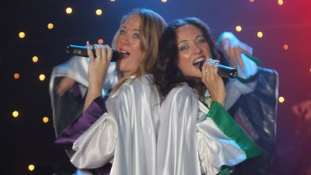 ABBA tribute act Chiquitita are performing at Beccles Public Hall.