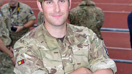 Beccles soldier proud to support Invictus GamesSecond Lieutenant Matt Brunsdon (24) from Beccles is