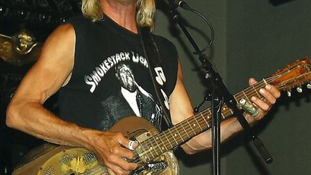 Blues star Ken DuChaine who is appearing at Beccles Public Hall.