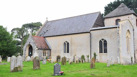 Councillor Matt Hubbard is leading plans to create a war memorial Lych-Gate at Chedgrave Church.