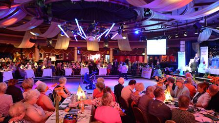 Anglia in Bloom awards ceremony at the Ocean Room in Gorleston.Picture: James Bass