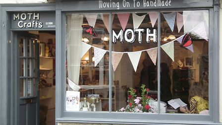 MOTH Crafts, which has just opened in Bungay.