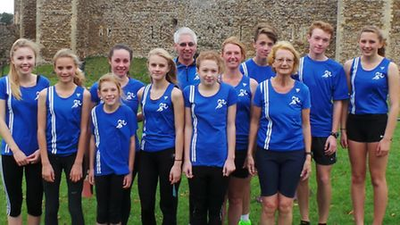 Members of Beccles and Bungay Harriers were in fine form in the first Suffolk winter League cross-co