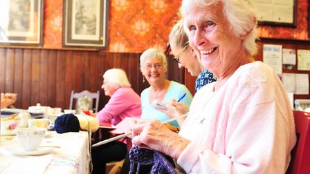 The Bungay branch of the Norfolk Knitters will be exhibitiing their work at the Norfolk Knitters exh