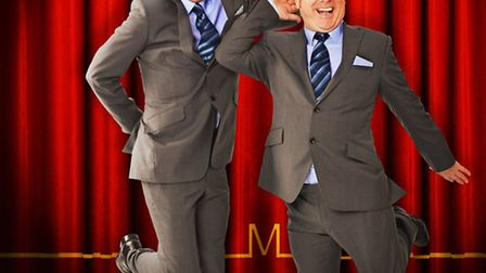 Ian Ashpitel and Jonty Stephens who are bringing their West End hit show Eric and Little Ern to the
