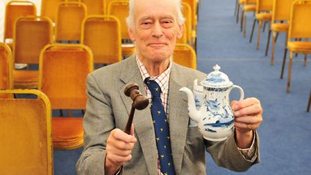 Auctioneer Russell Sprake from Bungay is set to retire after more than 50 years.