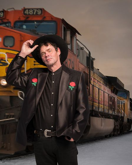 Comedian Rich Hall will perform at Lowestoft's Marina Theatre in 2015. Picture: RAB CUMMINGS.