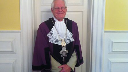 Terry Reeve who has been installed as the new Town Reeve of Bungay.