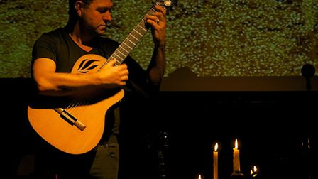 Guitarist Richard Durrant will be playing at the New Cut, Halesworth.
