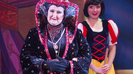 Denise Nolan stars as the Wicked Queen in the Marina Theatre pantomime Snow White and the Seven Dwar