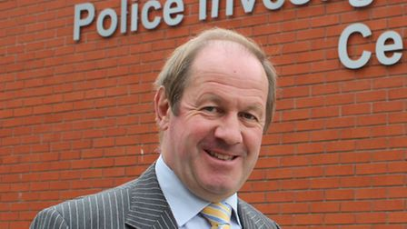Suffolk Police and Crime Commissioner Tim Passmore.