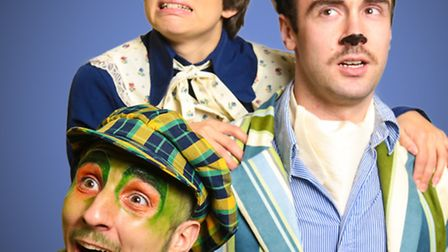 Toad, Ratty and Mole who will be on stage at the Bungay Fisher Theatre.