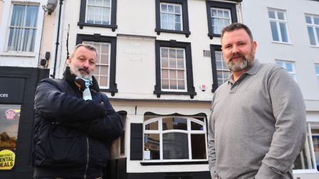 Kevin Wainwright and David Little are returning to Beccles to run a new café/bistro Graze.